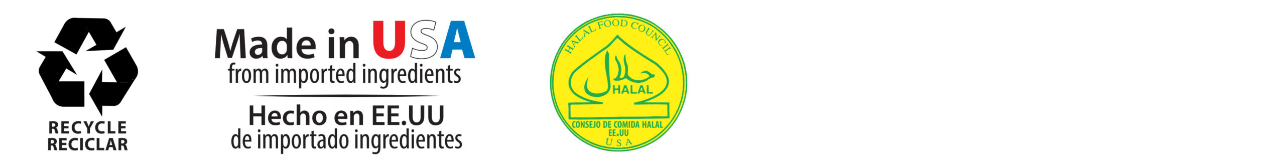 recycle-made in USA-halal