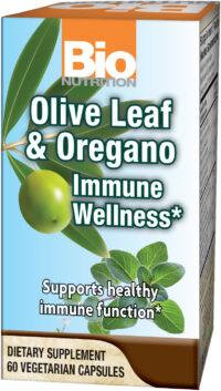 Olive Leaf & Oregano Immune Wellness*