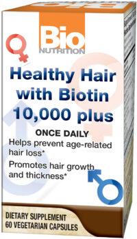 Healthy Hair with Biotin