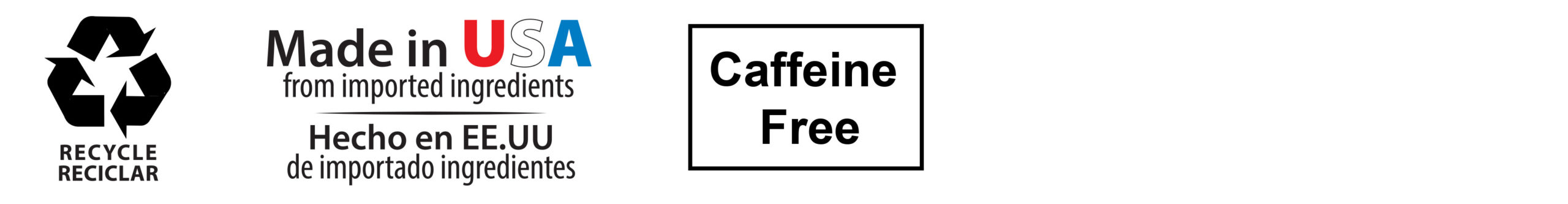 recycle-made in USA-caffeine free