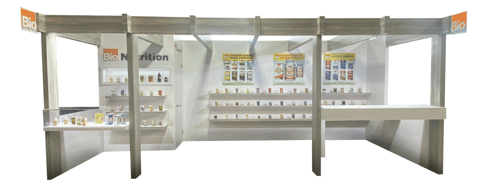 bio nutrition booth
